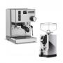 Preview: Rancilio Silvia + Espresso Grinder Set