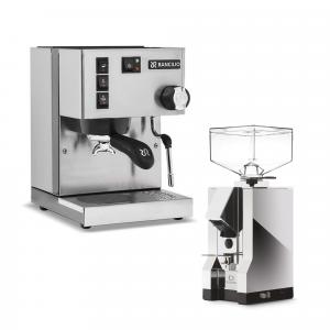 Rancilio Silvia + Espresso Grinder Set