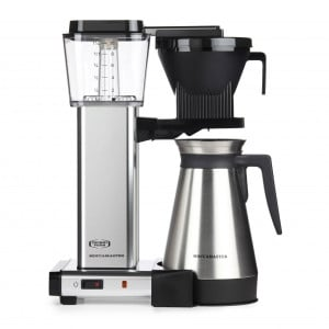 Moccamaster KBGT 741 Filter Coffee Machine - polished aluminium