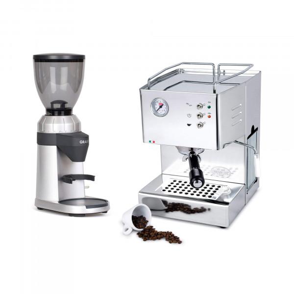 QuickMill Orione + Espressomühle im Set