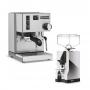Vorschau: Rancilio Silvia + Espressomühle im Set