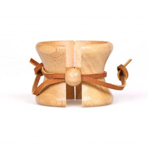Chemex Wood Collar with Leather Strap
