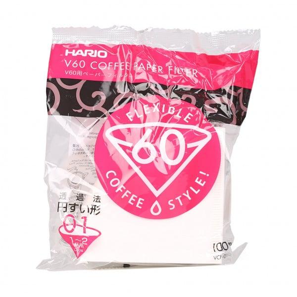 Hario Papierfilter für v60 - 100er Packung