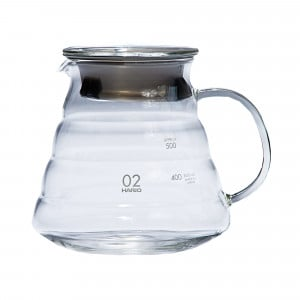 Hario V60 Range Server Glass Coffee Pot - 600 ml