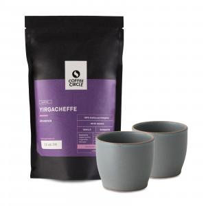 Filterkaffee nach Wahl und Kaffeebecher im Set