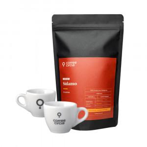 Espresso Coffee & Cups Gift Set