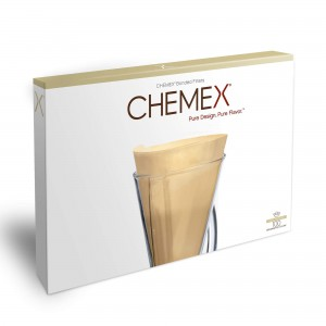 Chemex filters for 1-3 cup carafe