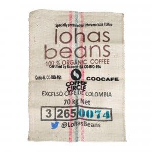 Kaffeesack aus Jute