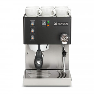 Rancilio Silvia Espressomaschine - schwarz - wie neu