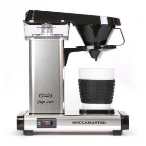 Moccamaster Cup-One - Filterkaffeemaschine - Alu poliert