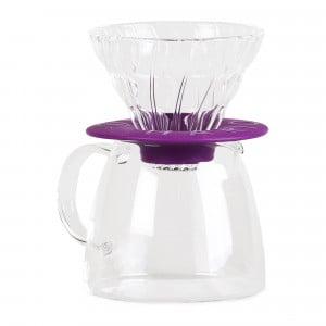 Hario V60 Glass Dripper & Pot Clair
