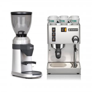 Rancilio Silvia + Graef CM 800 - Einsteiger-Set