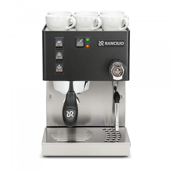 Rancilio Silvia Espressomaschine - schwarz - sehr gut