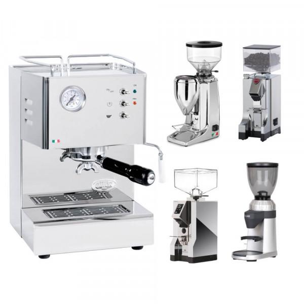 QuickMill Orione + espresso grinder set