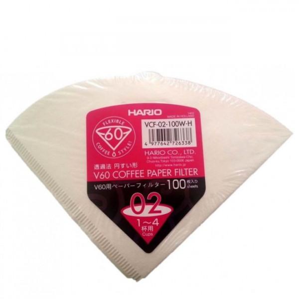 Hario Papierfilter für v60 02 NL - 100er Packung