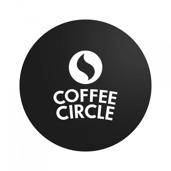 Coffee Circle Logo Sticker